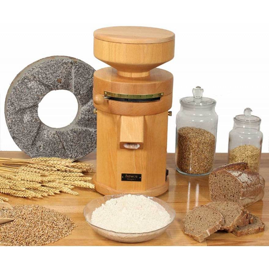 Electric Grain Mill hawos Oktagon 1