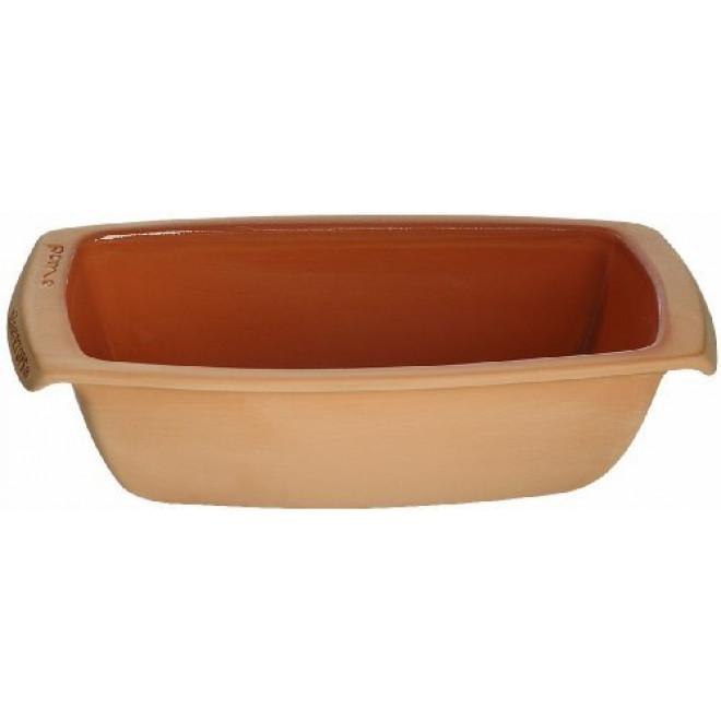 Rectangular Bread Mould Glazed Clay Bread Baker