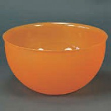 Bowl 4.2 Pints (2 liters) translucent orange