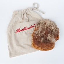Bread Bag, 100% natural linen, unbleached