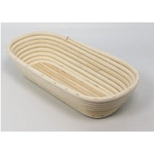 Banneton Bread Dough Proofing Basket, Oval for 2.2lb (1kg) Dough