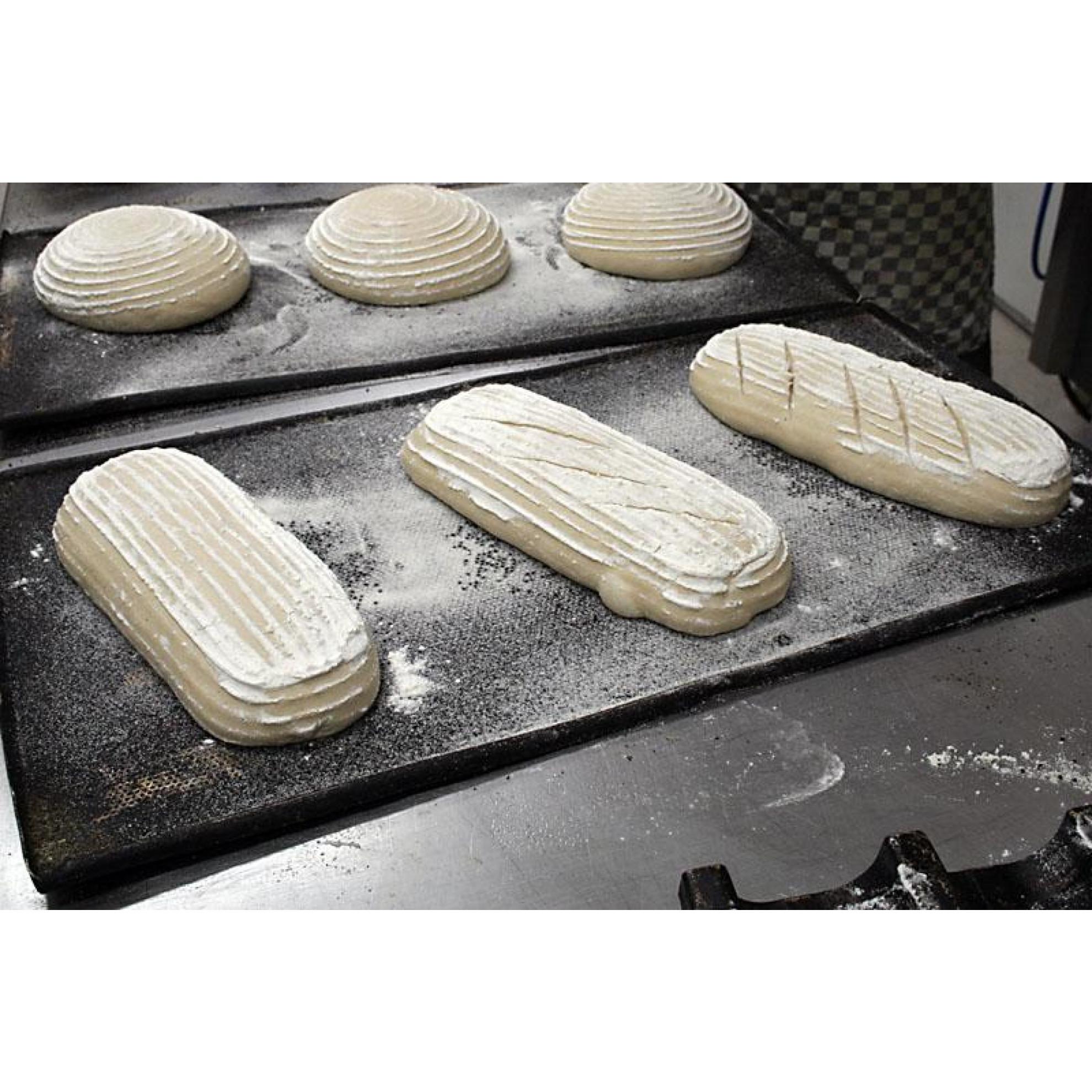 Banneton Bread Dough Proofing Basket Oval For 2 2lb 1kg
