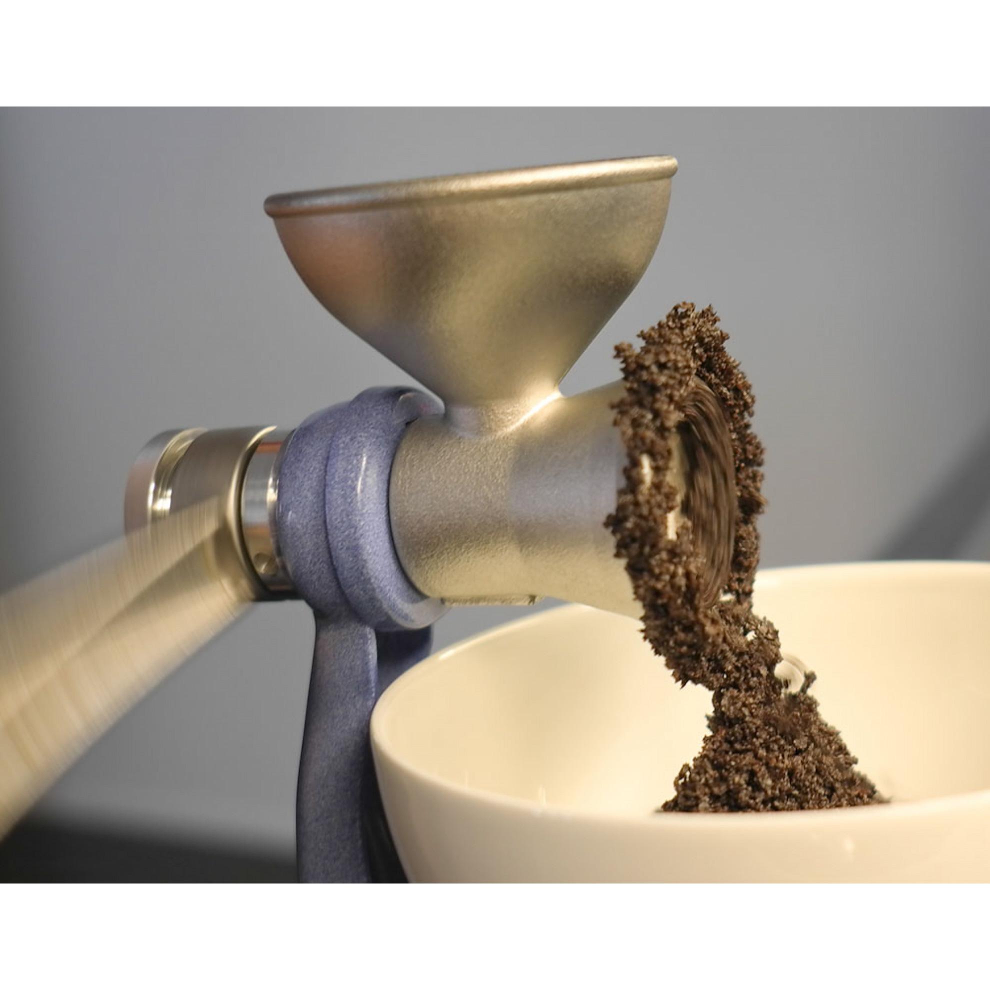 Stainless steel manual pepper mill salt & pepper spice grinder.