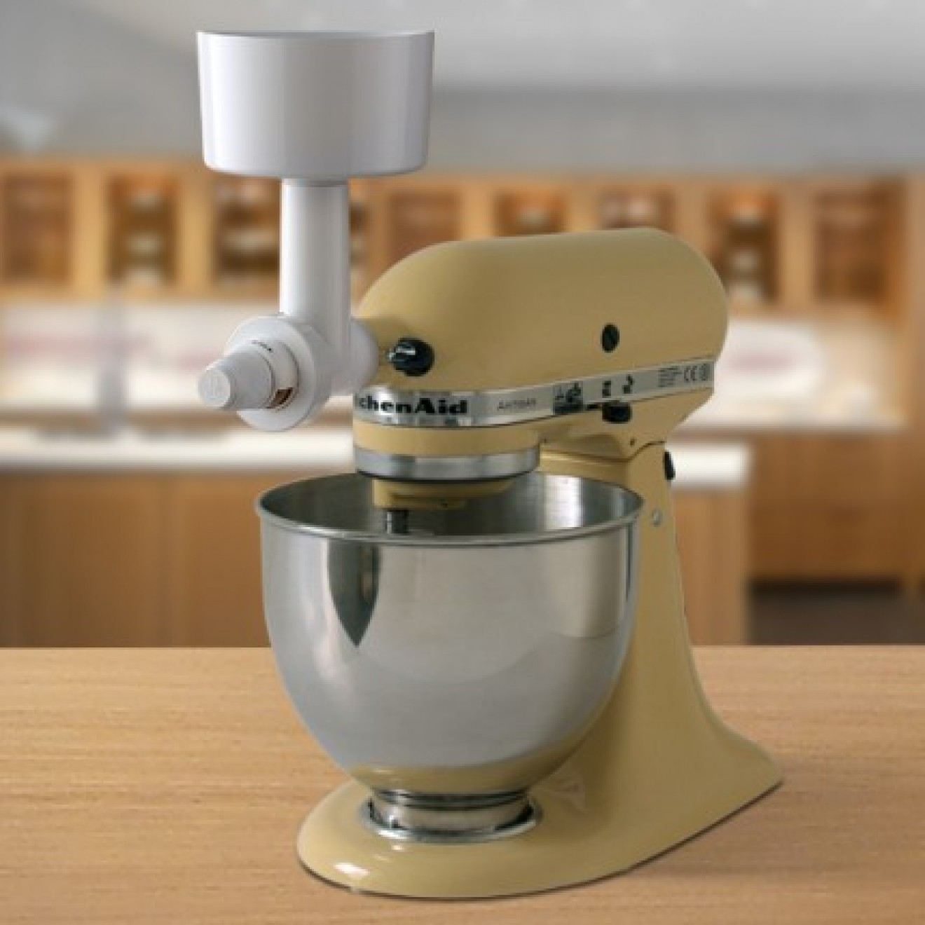 Steel Cone Grinder Attachment For Kitchenaid Stand Mixers
