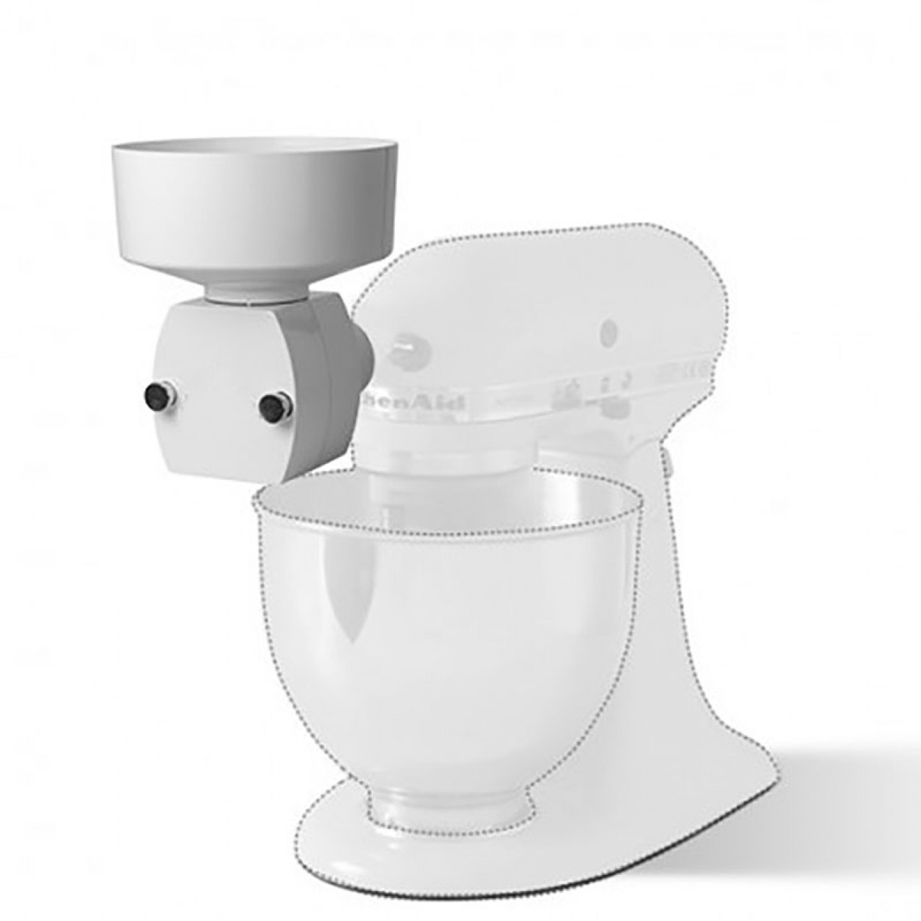 Flaker Attachment for KitchenAid Stand Mixers