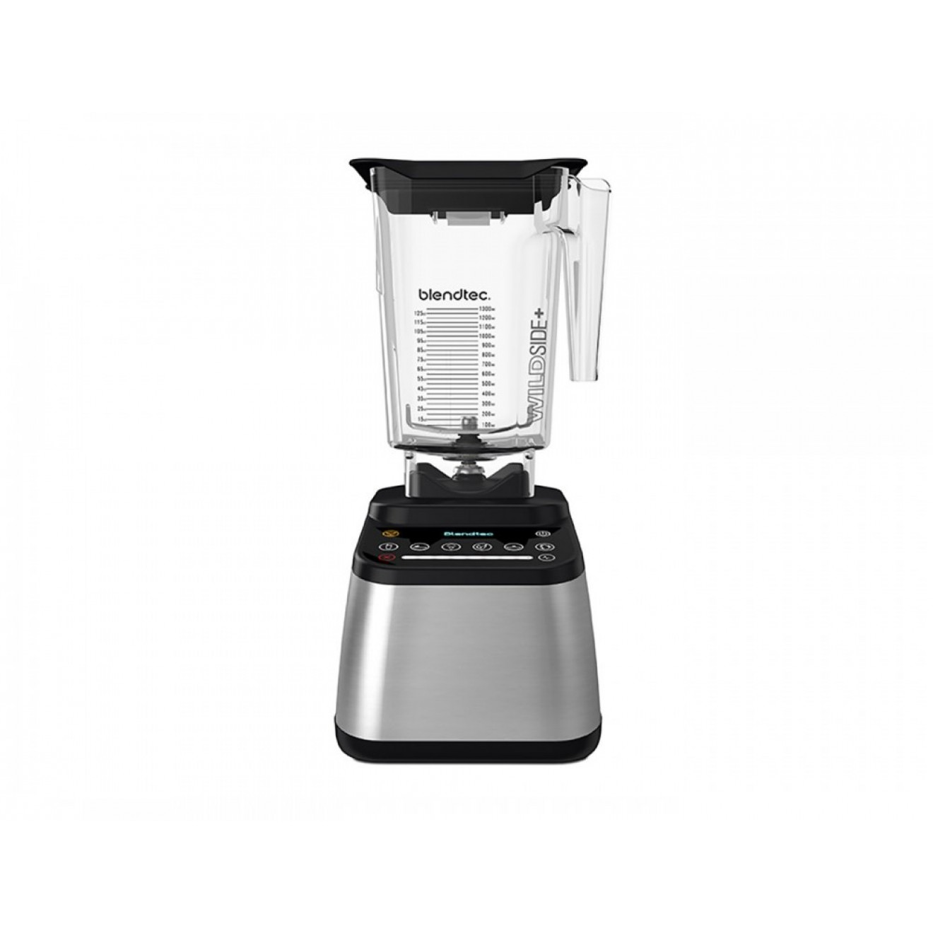 Blendtec Designer 725 Stainless with WildeSide+ 2.6 liter