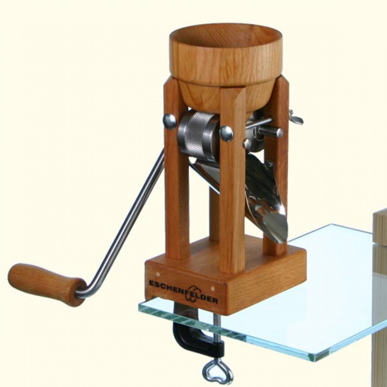 Eschenfelder Grain Flaker with Wood Funnel