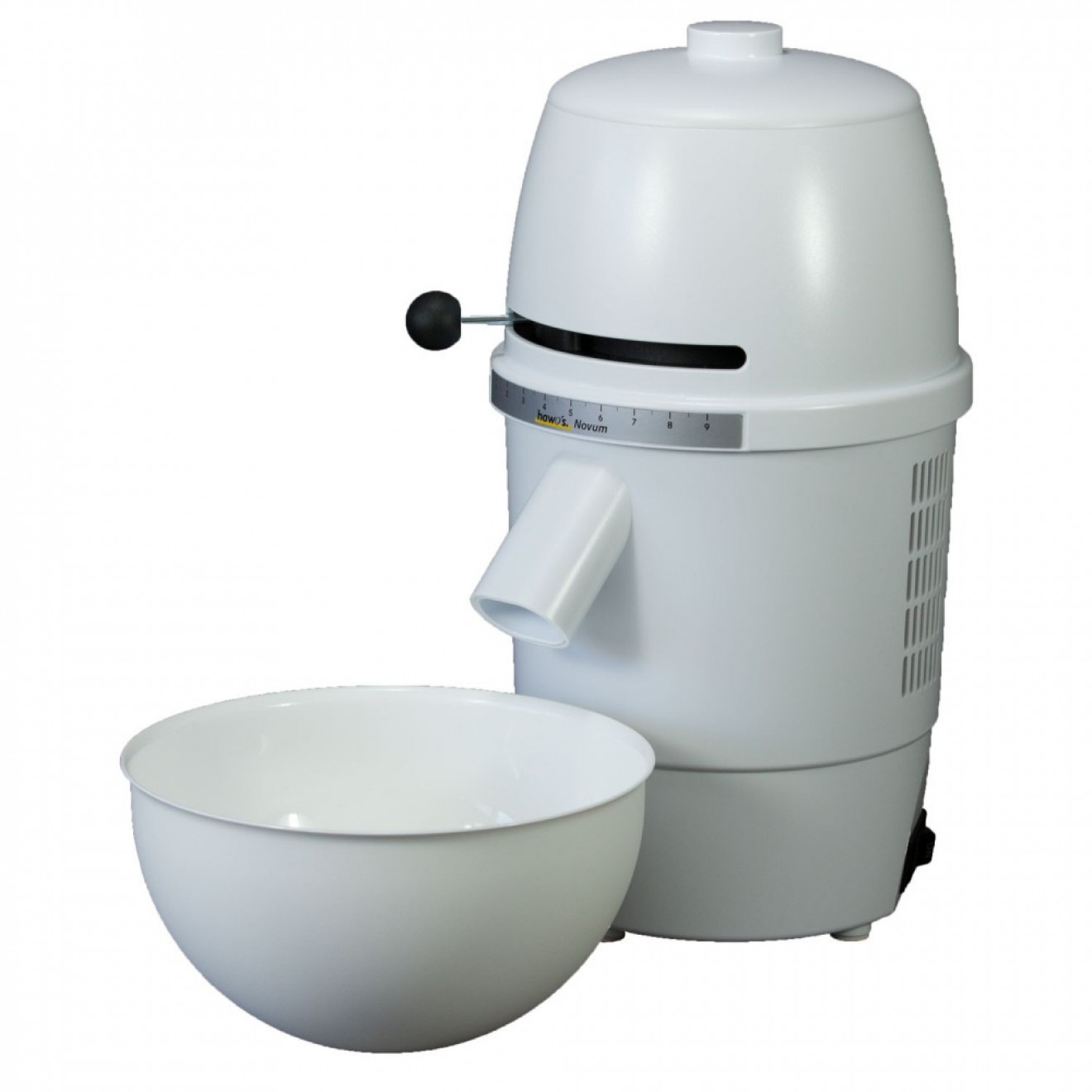 Electric Grain Mill hawos Novum, white